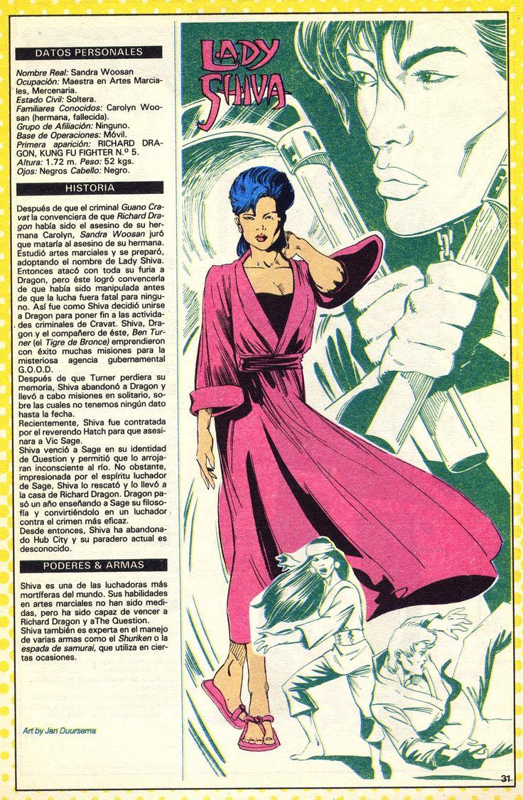 Lady Shiva | Lady Shiva (ficha dc comics)