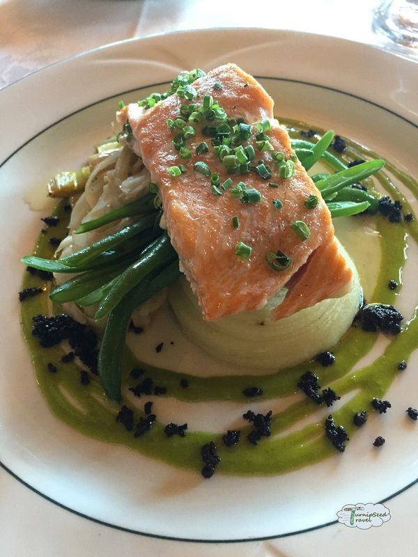 Digby Pines Golf Resort & Spa's Salmon Fillet!   Our hand-crafted seafood menu is delicious and local! Caught fresh in the Bay of Fundy in Digby, NS!