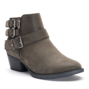 SONOMA+Goods+for+Life+Women's+Buckle+Ankle+Boots