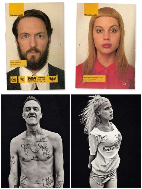 Die Antwoord. Before and after.