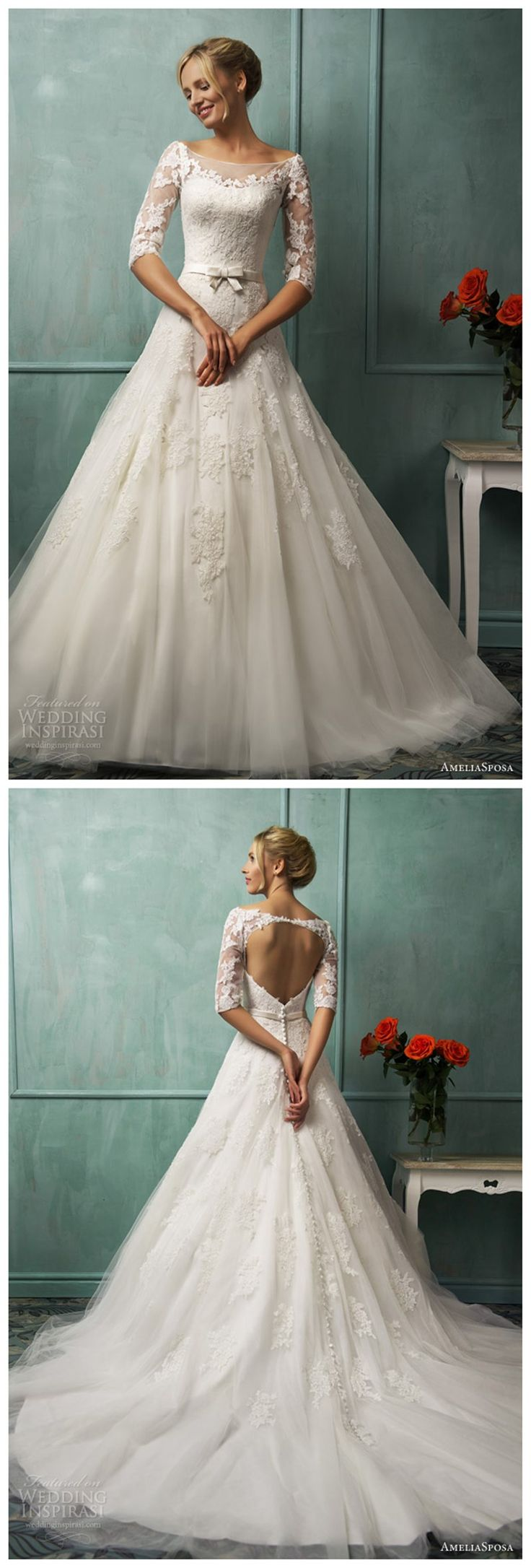 179$ Lace,longsleeves,backlessweddingdresses,http://www.dhgate.com/product/2014-amelia-sposa-scoop-a-line-wedding-dresses/198363406.html