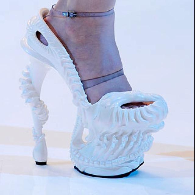 e29375017d8 Alexander McQueen 2010. Shoes super high platforms sandals LADY GAGA ...