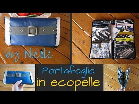 Come realizzare un portafoglio con cerniera - Wallet sewing tutorial - YouTube