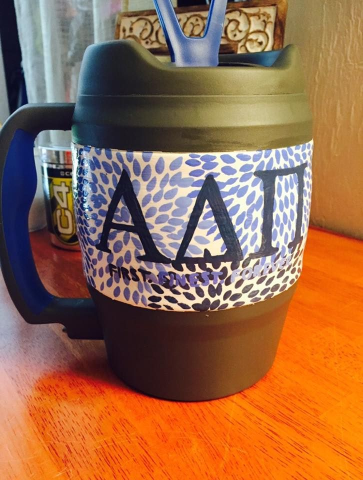 bubba keg floral lilly pulizter print ADPi alpha delta pi first, finest, forever