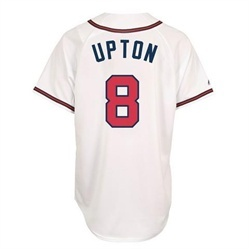 Justin Upton Majestic Mens Replica Player Jersey