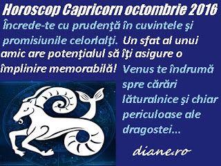 diane.ro: Horoscop Capricorn octombrie 2016