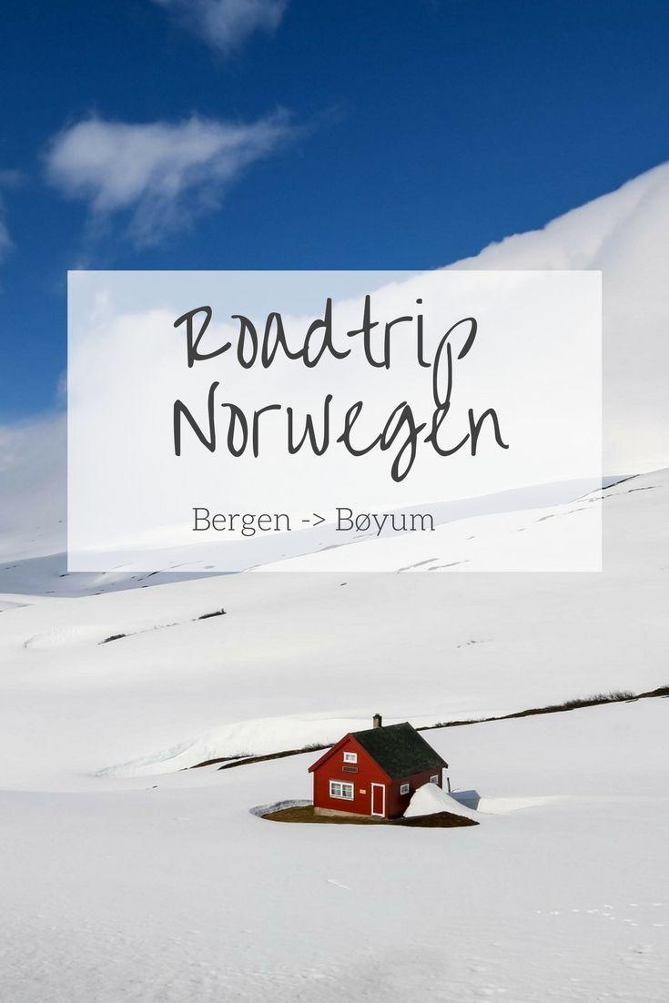 Roadtrip in Norwegen: Von Bergen bis Bøyum