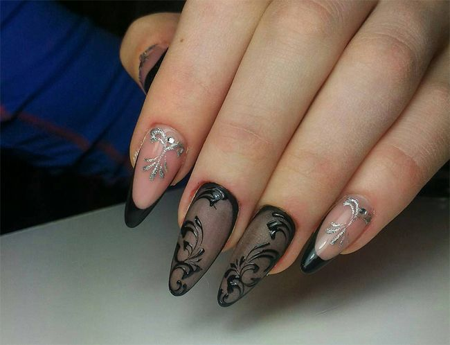 Colored Nail Art Designs Polyvore