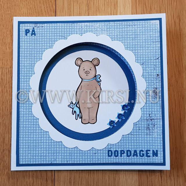 Kirsi: Wilmers dopkort - Wilmers Christening card. För sa...