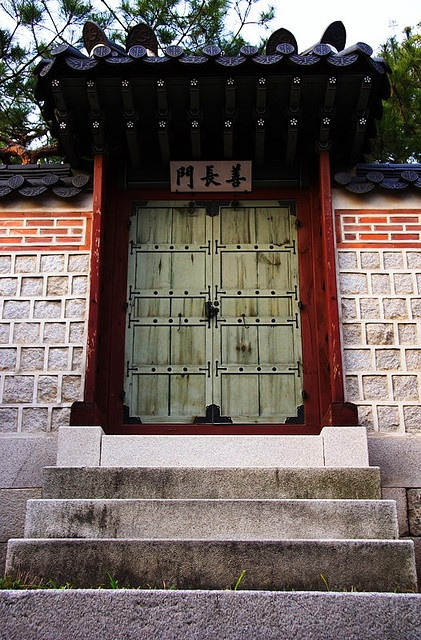 Door. Korea