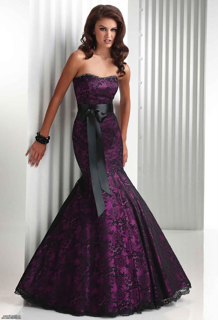 Gothic wedding shop - Image 12 Of 20 Black And Purple Gothic Wedding Dresses Photo In Gothic Wedding Dresses