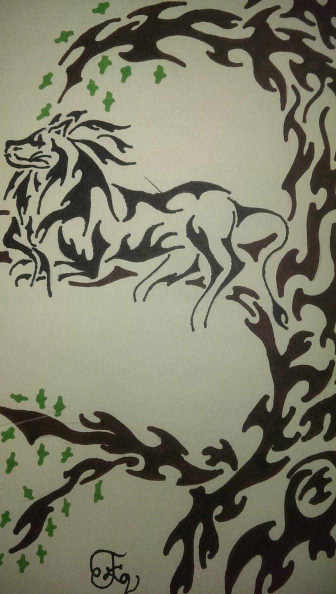 Mountain Lion Paw Print Tattoo Lounging lion by zohea