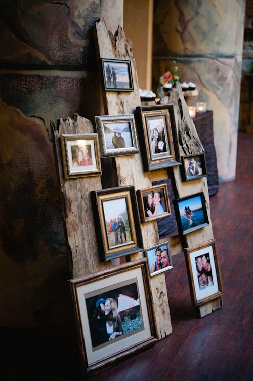 Beautiful picture display! Perfectly Imperfect — Weddings Unveiled Image courtesy of AMB Photo; http://ambphoto.com