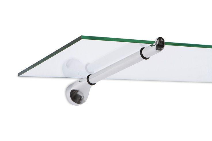 Large Straight Shelf Support - Shelf Brackets - Shelf Supports - Standoffs, Supports & Signage - Mockett