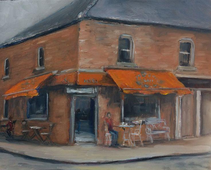 """""""LA Bakery"""" Skerries 30x24cm oil"""