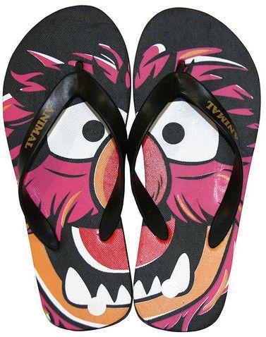 "The Muppets Animal Flip Flops - ""AAANIIIIIIMAAAAL!"" :D"