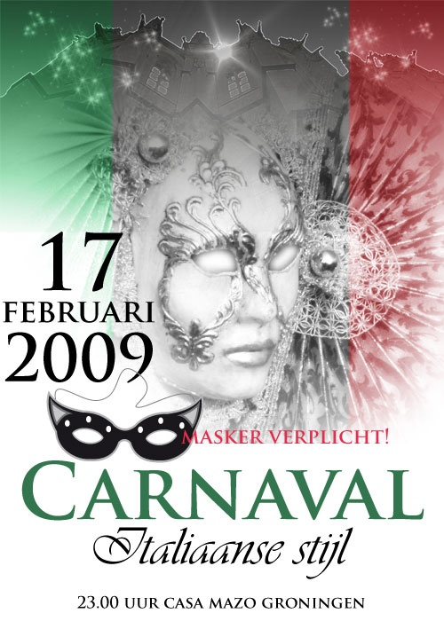 Affiche carnaval #photo_art #graphic_design