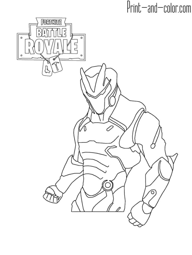 Fortnite Battle Royale Coloring Page Oblivion Fortnite