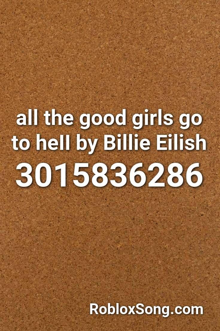 Roblox Id Code Billie Eilish