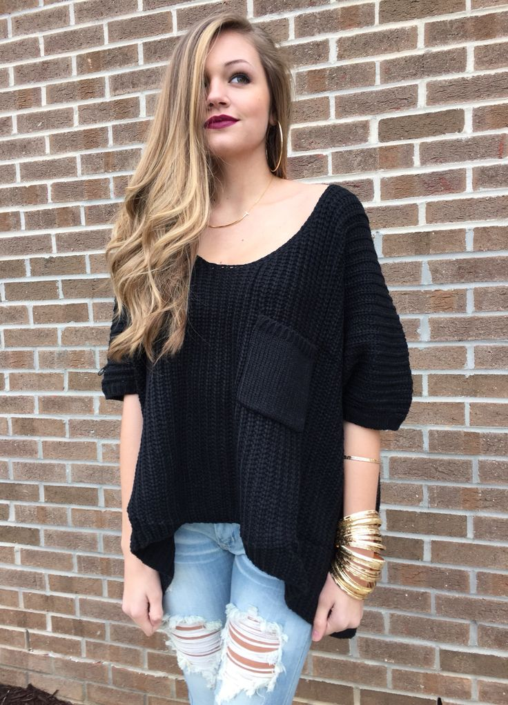 oversize sweater #swoonboutique