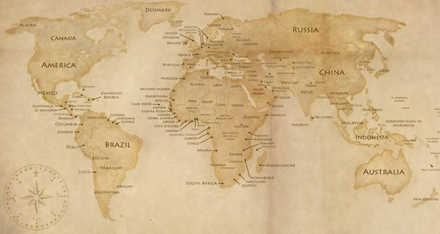 15 high quality free world map templates world world maps and maps gumiabroncs Gallery