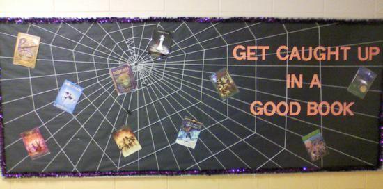 October Halloween Reading Bulletin Board Idea
