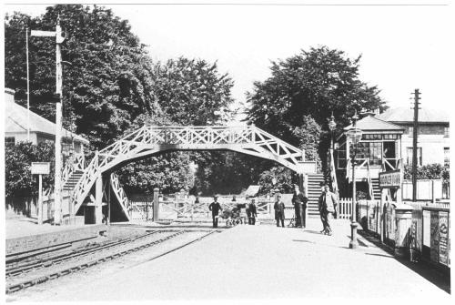 Andover town station c.1905