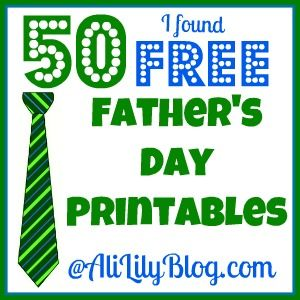 50 ideas for Father's DayFathers Day Crafts, 50 Free, Father'S Day Gifts, Free Fathers, 50 Ideas, Gift Ideas, Awesome Free, Idease Prints, Free Printables