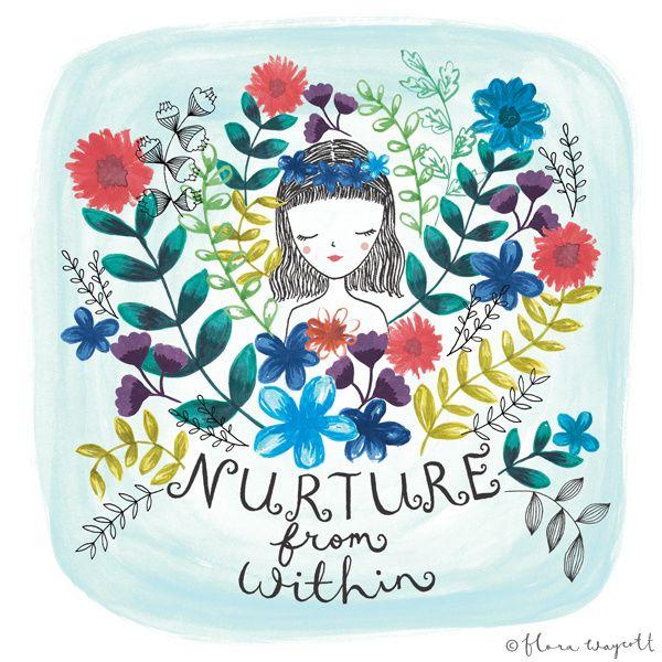 Flora Waycott Nurture from within 2014
