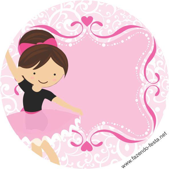 Sweet ballerina free printable mini kit