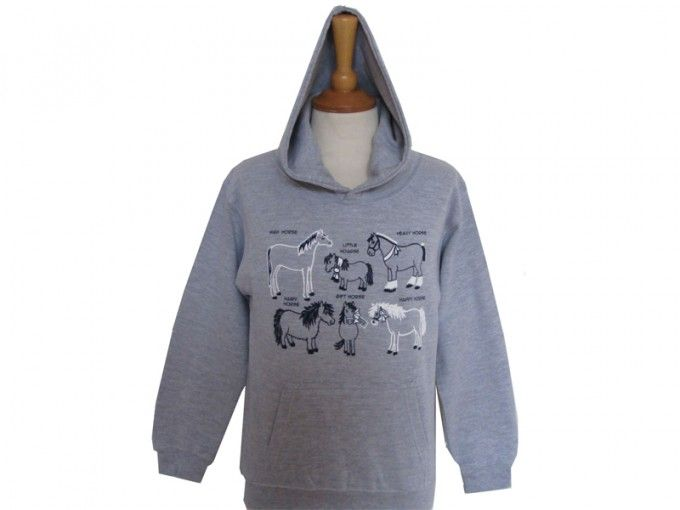 All Kinds of Horses Hoodie