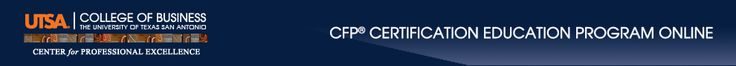 If you aim to have a strong and solid career in the financial services industry then becoming a Certified Financial Planner must be your top most priority. This means that you have to earn yourself added credentials and certifications that can help strengthen your financial planning career. Through the financial planning program offered at the http://utsa.financialplannerprogram.com/ becoming a CFP professional is within your reach. We offer the best CFP courses that