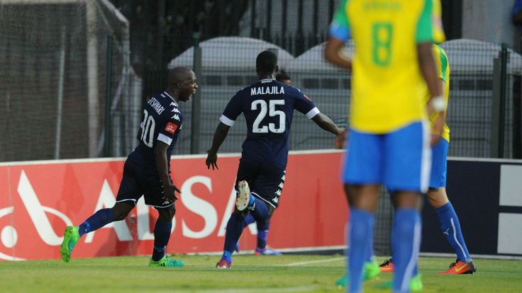 Bidvest Wits 1-0 Mamelodi Sundowns: Motshwari's header sends the Students top of the PSL log