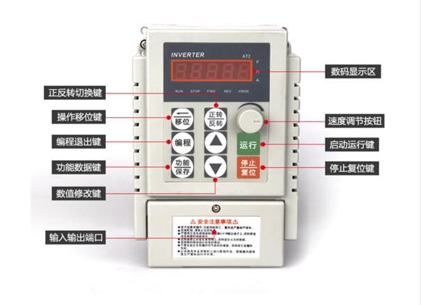 79.99$  Watch now - http://alifpc.shopchina.info/go.php?t=32231911364 - 1.5KW220V input single-phase output three-phase inverter 220V/ Change connection for 380V output universal motor speed regulator  #aliexpresschina