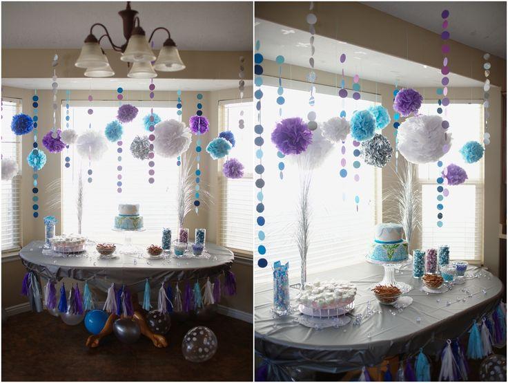 #frozen Cutest Frozen themed birthday party!