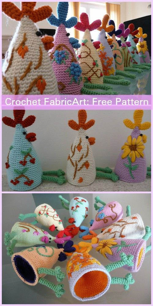Crochet Eggstremely Egg Cosy Set Free Pattern