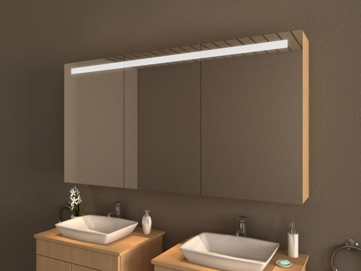 Die besten 25+ Spiegelschrank led Ideen auf Pinterest Bad - spiegelschrank badezimmer 120 cm