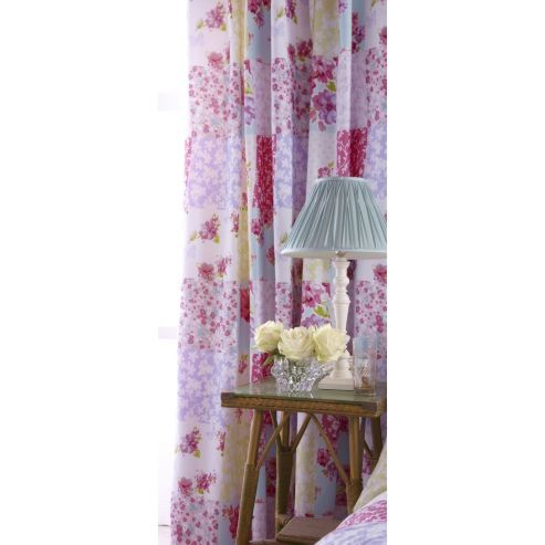 Buy Catherine Lansfield Home Designer Collection Gypsy Patchwork Curtains 168cm wide x 183cm drop (66x72 inches) from our Pencil Pleat Curtains range - Tesco.com