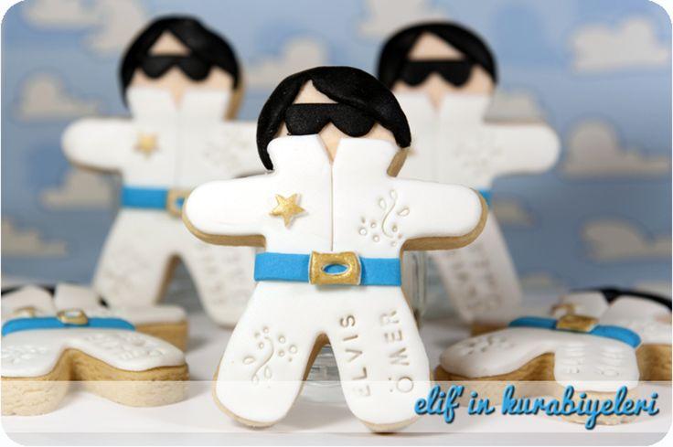 Elvis Presley cookies