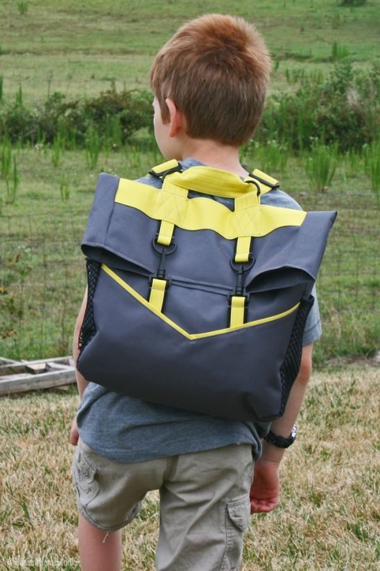 Sporty Retro Rucksack by Sara // Radiant Home | Project | Sewing / Accessories | Kids & Baby | Men's | Bags & Purses | Kollabora