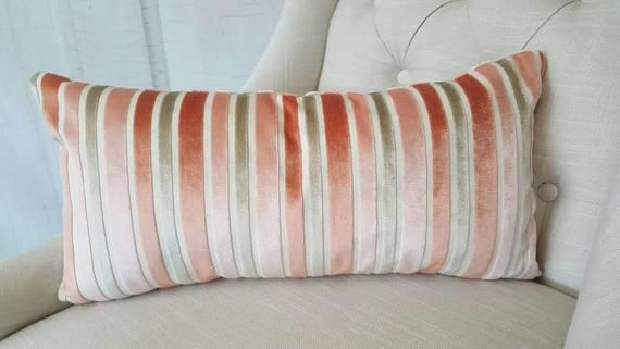 Coral Pink Velvet Kissenbezug Euro Pillow Sham dekorative Akzent Kissen GEFÜTTERTE Dekokissen DecorSofa Kissen Designer Kissen
