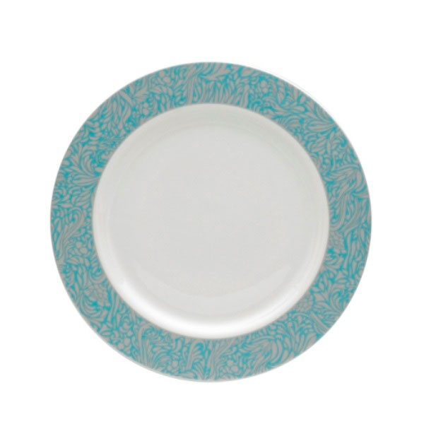 Monsoon Lucille Teal Dinner Plate
