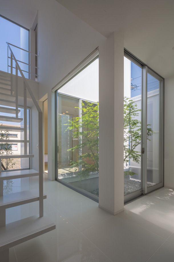 アーケード商店街にある家・間取り(三重県四日市市)   注文住宅なら建築設計事務所 フリーダムアーキテクツデザイン
