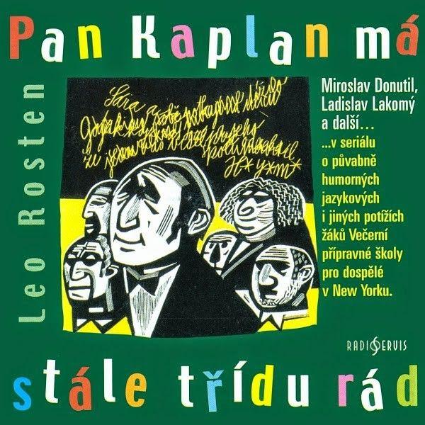 iTunes Cover Studio.cz: Leo Rosten: Pan Kaplan má stále třídu rád (2 CD) (...
