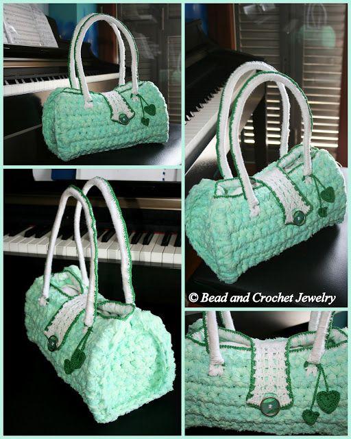 Crochet Bags ~ Bead and Crochet Jewelry