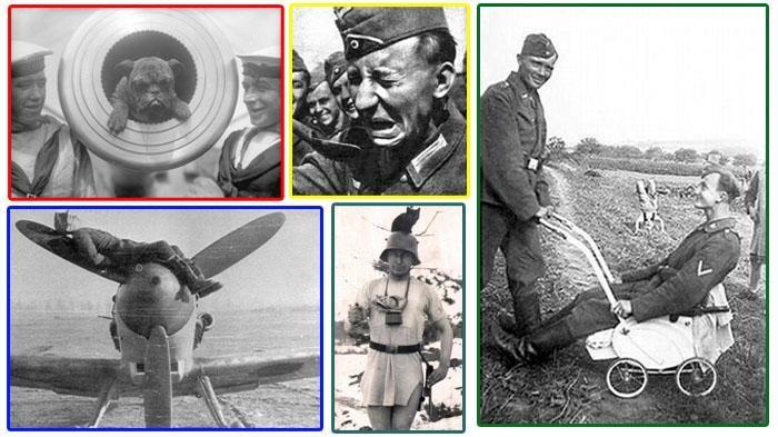 Gokil! 11 Foto Langka Para Tentara Ini Diambil Saat Perang Dunia II