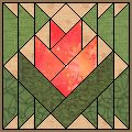 Desert Flower - Free Quilt Block Pattern                                                                                                                                                                                 More