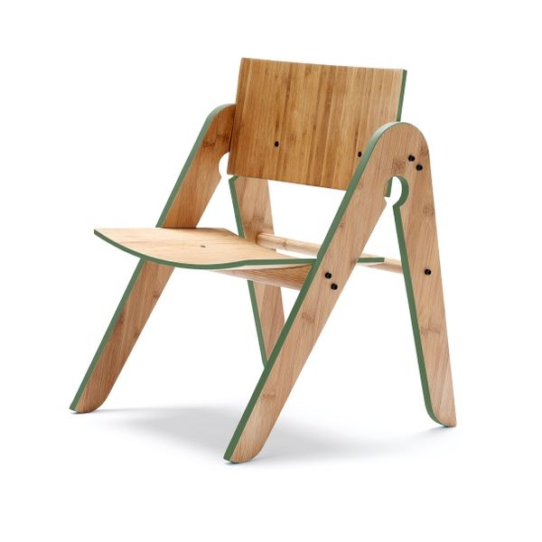 We:Do:Wood Lilys stol, grøn - Børnemøbler | Emanuels Design Shop