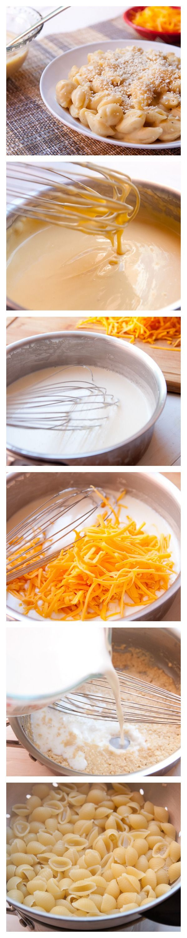 How To Make Cheddar Cheese Sauce