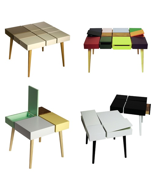 Modular table furniture pinterest creative office space for Modular table design